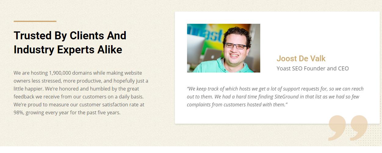 Siteground review en ervaringen